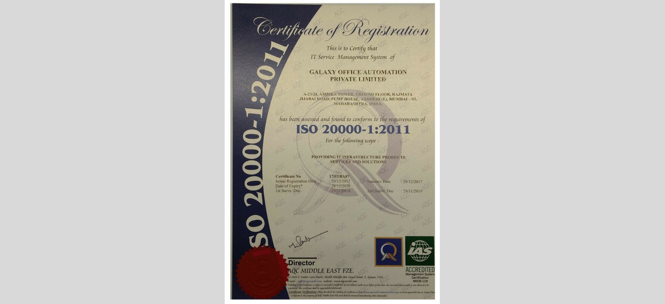 Galaxy-achieves-ISO-Certification-20000-2011-System-Integrator
